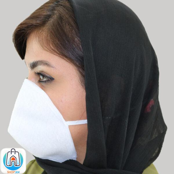 ماسک تنفسی نمدی قابل شستشو (تکی)