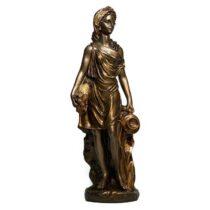 مجسمه گلدن گیفت طرح دختر گل گندم کد 433