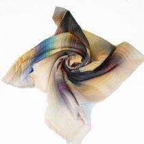 روسری طرح آبرنگی