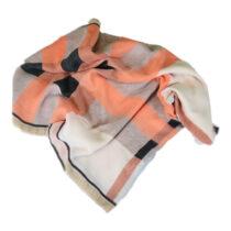 روسری طرح چهارخانه