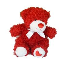 عروسک طرح خرس مدل پاپیون سفید