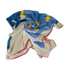 روسری طرح دار قواره 140
